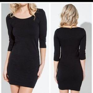 Dresses & Skirts - Seamless black bodycon dress